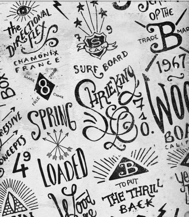 Hand Lettering by BMD Design: designinspiration.net