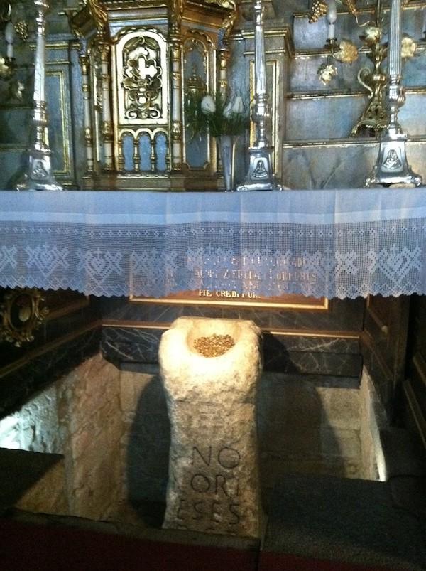 Santiago Padron altar