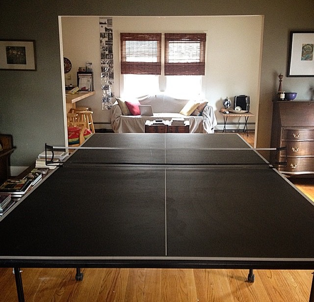 THE PING PONG TABLE